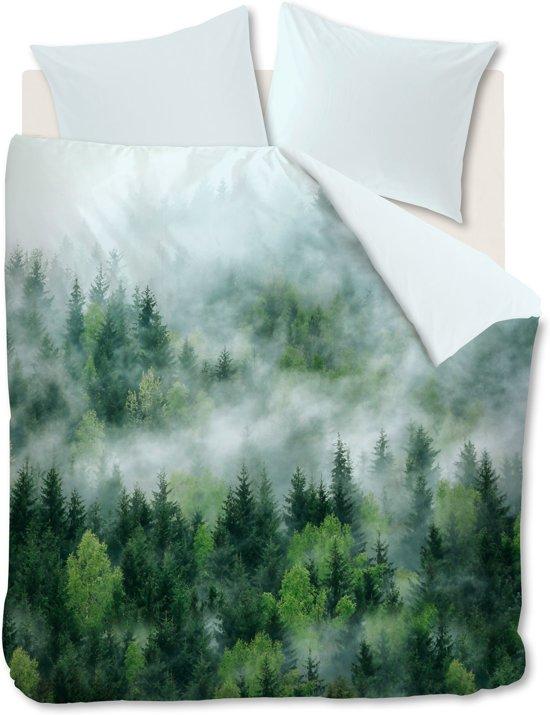 Ambiante Moltas - Dekbedovertrek - Eenpersoons - 140x200/220 cm - Groen