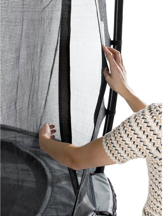 EXIT Elegant trampoline ø253cm met veiligheidsnet Economy - rood