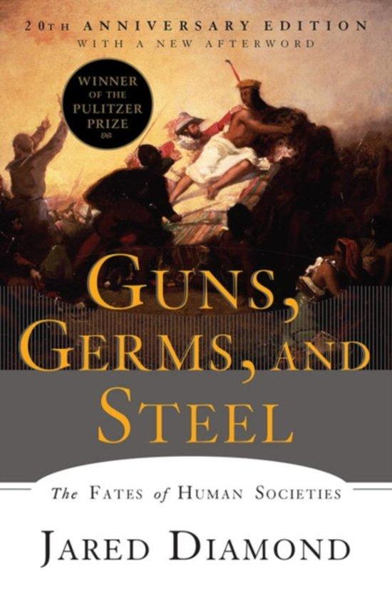 Guns, Germs, and Steel - Jared Diamond