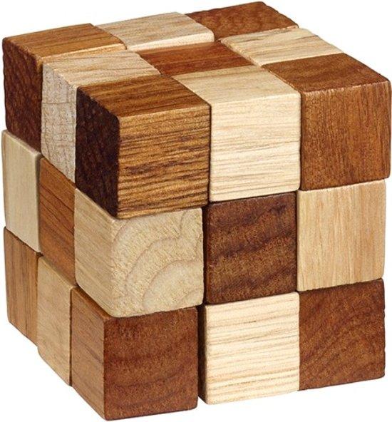 Afbeelding van het spel Moses Be Clever! Houten Smart Puzzels Kubus