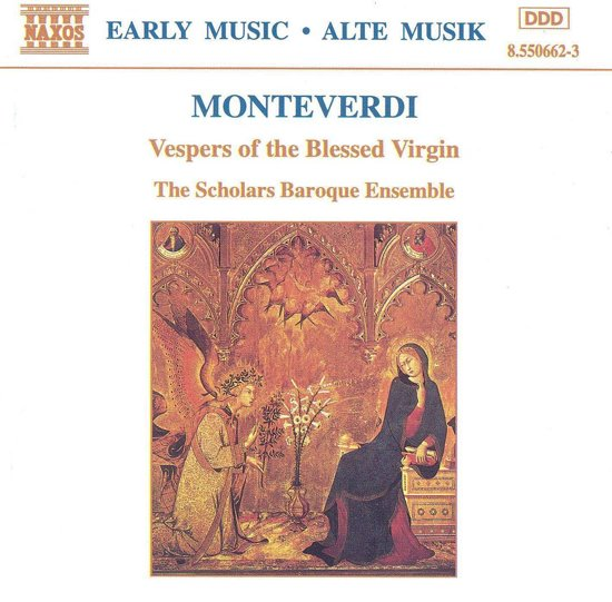 Monteverdi: Vespers Of ...