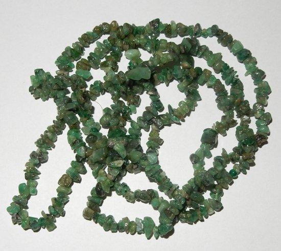 Splitcollier van  Smaragd