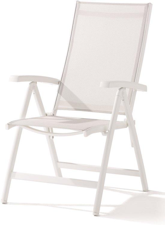 bol.com | Sieger - Verstelbare stoel Bodega - Wit