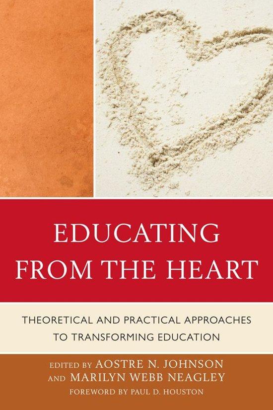 Boek cover Educating from the Heart van Sara C. Caldwell (Onbekend)