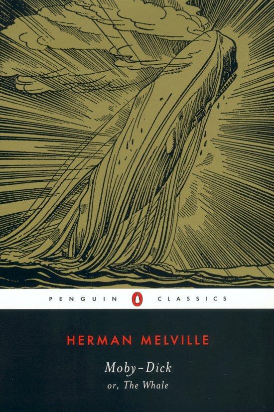 Boek cover Moby Dick van Herman Melville (Paperback)