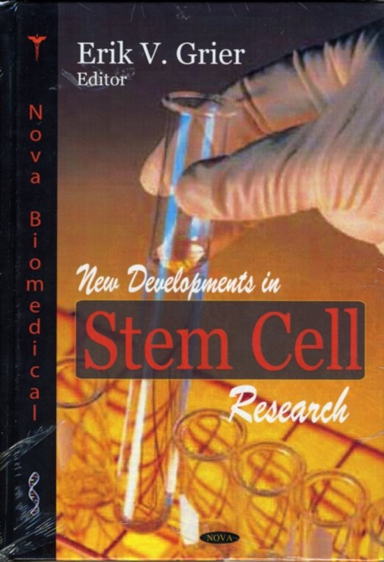 New Developments in Stem Cell Research