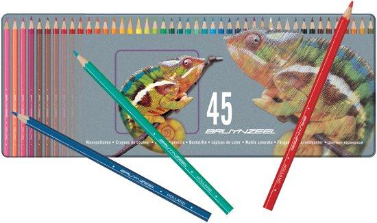 Bruynzeel Kameleon blik 45 kleurpotloden