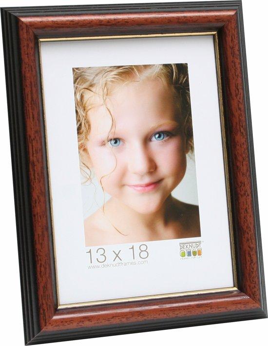 Bolcom Deknudt Frames Basic Klassiek Bruin Hout Fotomaat 20x30 Cm