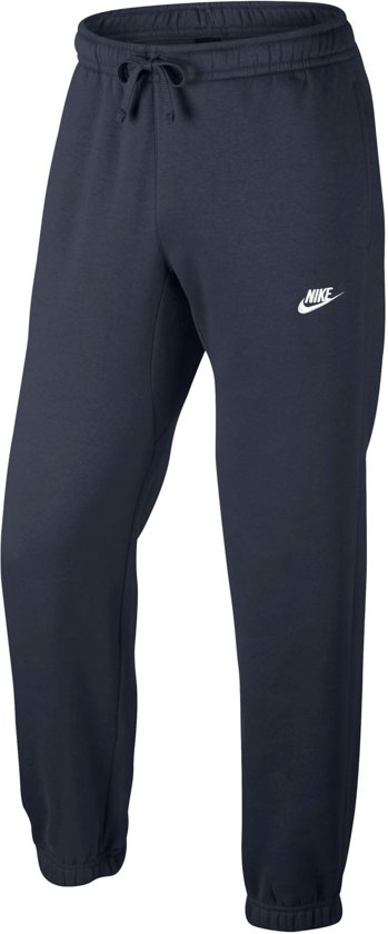 Nike Sportswear Pant CF Fleece Club Sportbroek Heren - Obsidian/White