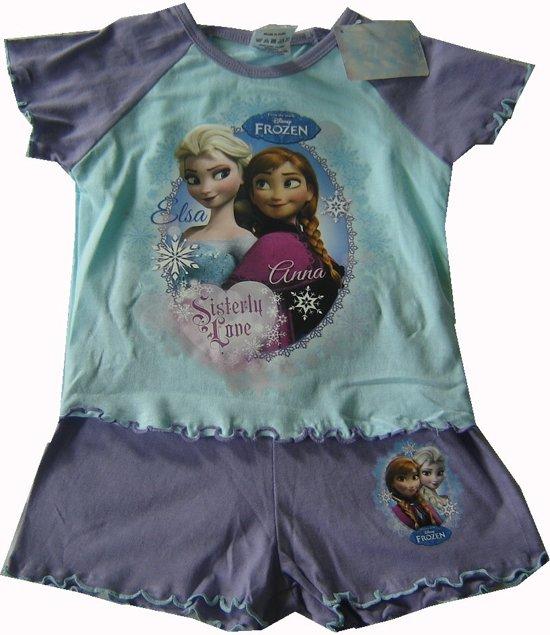 Shortama/pyjama van Disney Frozen maat 86/92