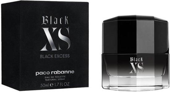 MULTIBUNDEL 3 stuks Paco Rabanne Black XS Black Excess Eau De Toilette Spray 50ml