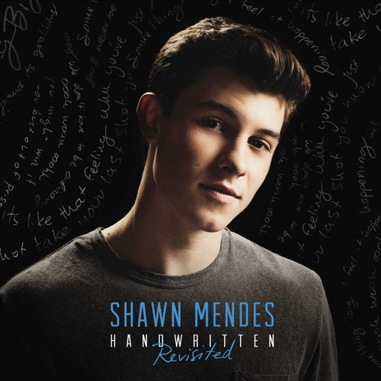 CD cover van Handwritten (Revisited) van Shawn Mendes