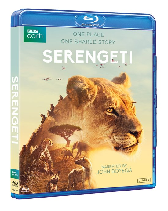 DVD cover van Serengeti