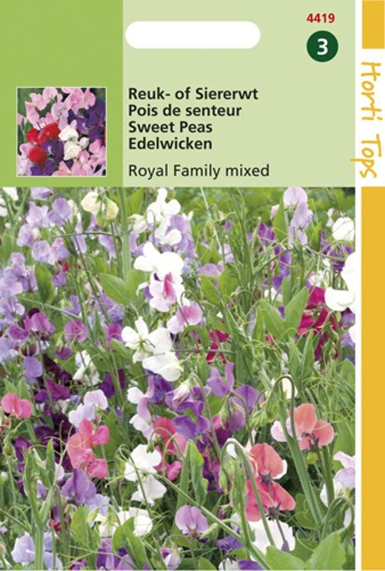 Hortitops Zaden - Lathyrus odoratus Royal Family gemengd