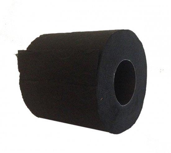 Ah Wc Papier.Zwart Toiletpapier