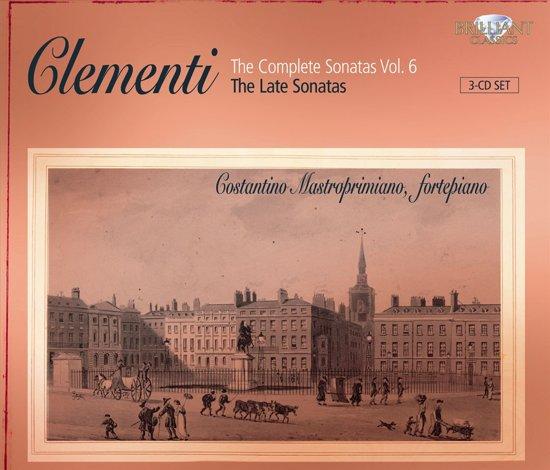 Clementi; Complete Sonatas Vol. 6