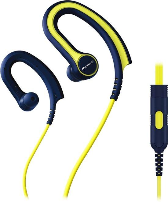 Pioneer SE-E711Y | Stereofonisch oorhaak Zwart, Geel