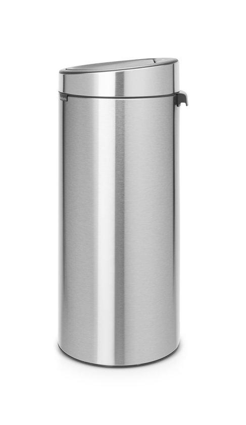 Brabantia Touch Bin 30 Liter Matt Steel FingerPrintProof