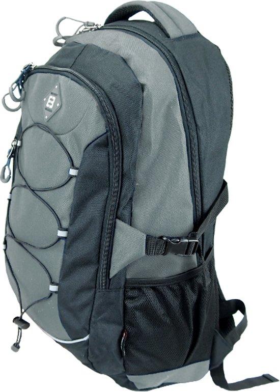 3e6efe29200 Enrico Benetti Dagrugzak - Outdoor Backpack - Met Regenhoes - 38 Liter -  Grijs