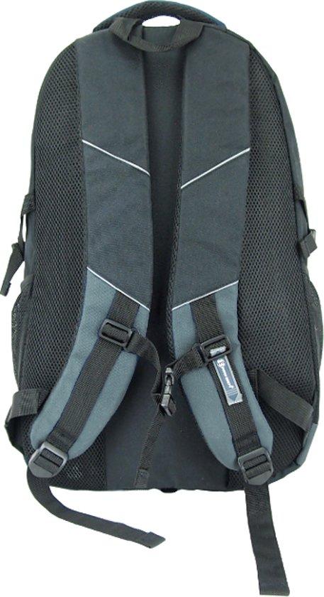 0bf8baf881a Enrico Benetti Dagrugzak - Outdoor Backpack - Met Regenhoes - 38 Liter -  Grijs