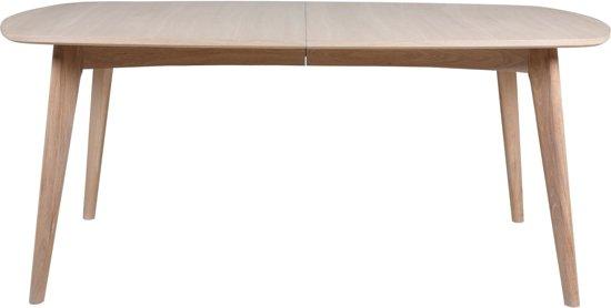 Uitschuifbare Eettafel White Wash.Bol Com 24designs Uitschuifbare Tafel Nadine 180 270 X