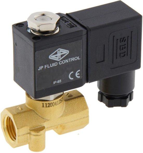 Magneetventiel CM-DA 1/4'' Messing EPDM 0-13bar 230V AC