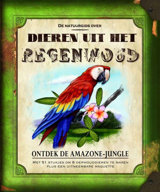 De natuurgids over dieren uit het regenwoud