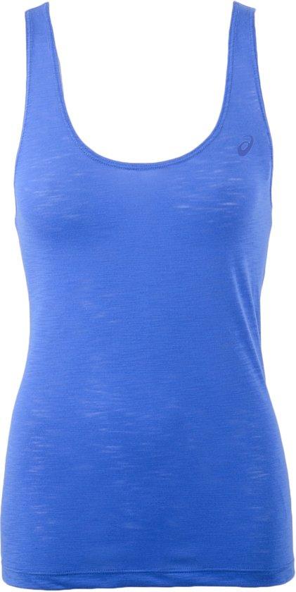Asics Loose Tank Top W Sporttop Maat M Vrouwen blauw
