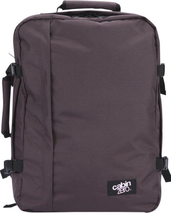 09c484c848f Cabinzero Classic - handbagage rugzak - 55x40x20 cm - 44 liter - Cuban Brown