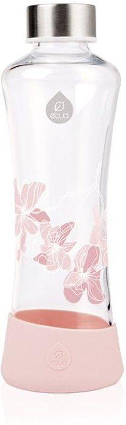 Equa Esprit Squeeze glazen waterfles 550 ml - Magnolia