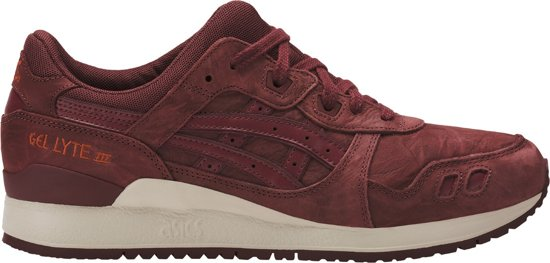 asics dames bordeaux rood