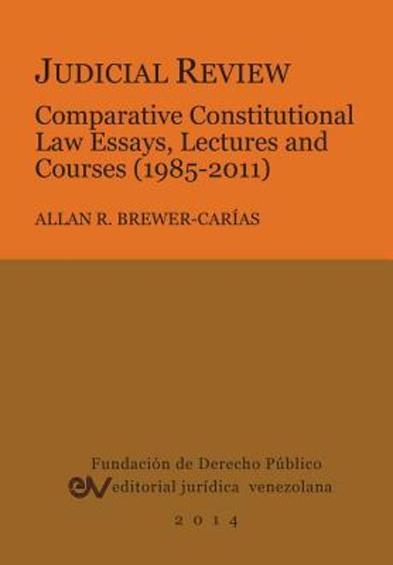 public law judicial review essays