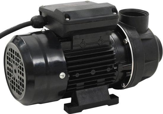 vidaXL Zwembadpomp 0,25 PK 7500 L/u zwart