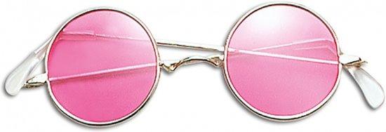 John Lennon bril roze