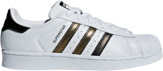 636bbf7976a bol.com | adidas Superstar Sneakers - Maat 40 2/3 - Vrouwen - wit/goud