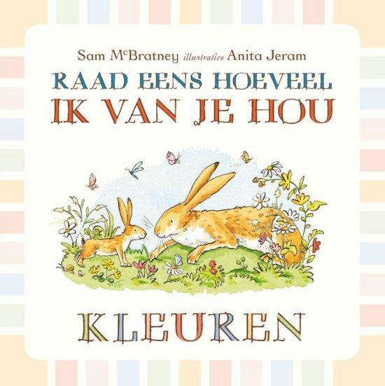 Boek cover Raad Eens...Knuffelboek van Sam McBratney