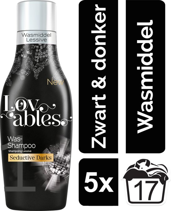 Lovables Seductive Blacks wasmiddel - 85 wasbeurten - Kwartaalbox
