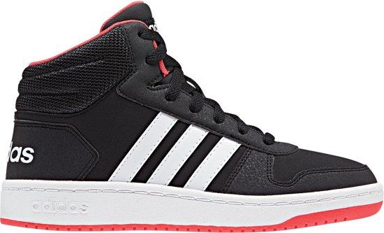 adidas Hoops Mid 2.0 K Kinderen Sneakers Core BlackFtwr WhiteHi Res Red S18 Maat 31