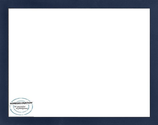 Homedecoration Misano – Fotolijst – Fotomaat – 30 x 46 cm  – Donkerblauw