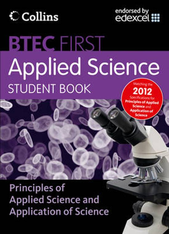 New BTEC Applied Science - Student Book