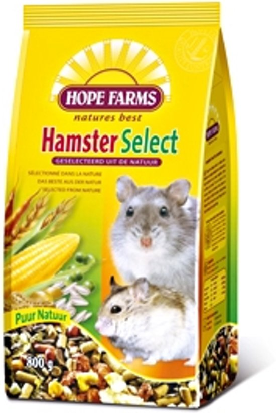 Hope Farms Hamster Select - 800 gr - Hamstervoer