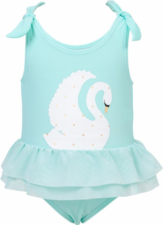 Baby Badpak.Bol Com Snapper Rock Uv Werend Badpak Rokje Baby Swan Mintgroen