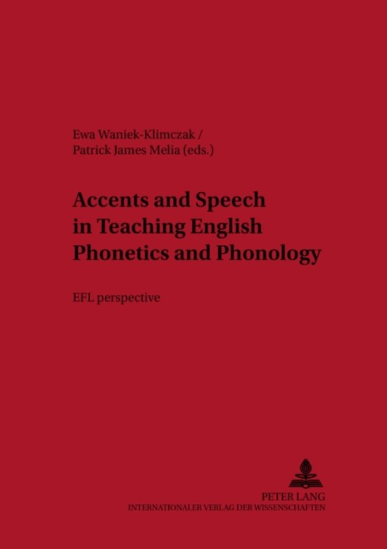 bol com | Accents and Speech in Teaching English Phonetics
