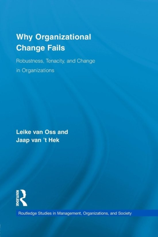 Boek cover Why Organizational Change Fails van Leike van Oss (Paperback)