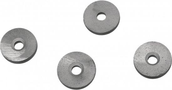 5 ronde magneten met gat 20x5 mm