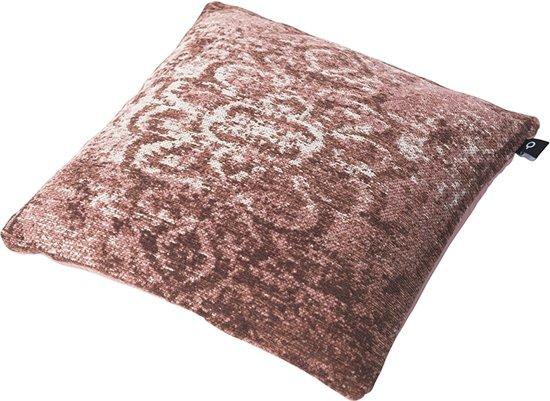 Oud Roze Kussens : Bol qazqa vintage vierkant kussen oud roze cm kanpur