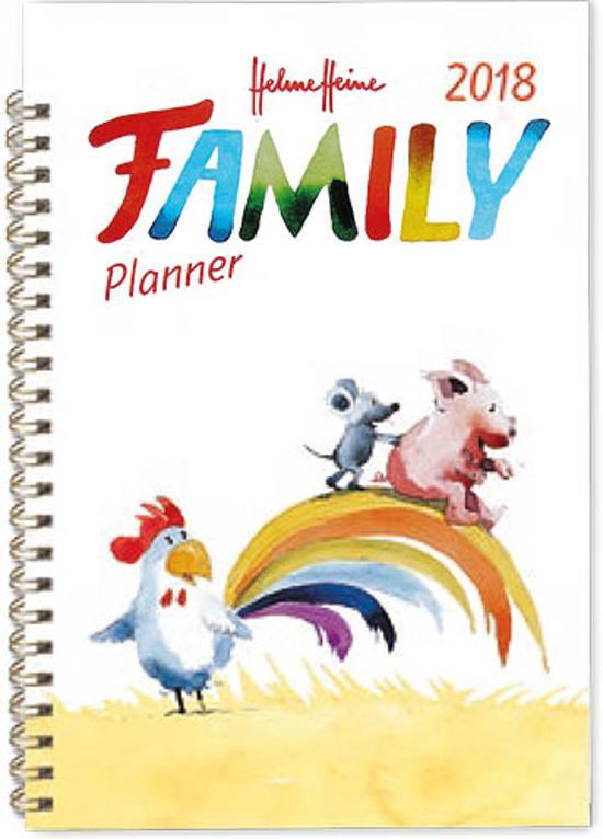 Helme Heine familienotitie agenda 2018 hardcover
