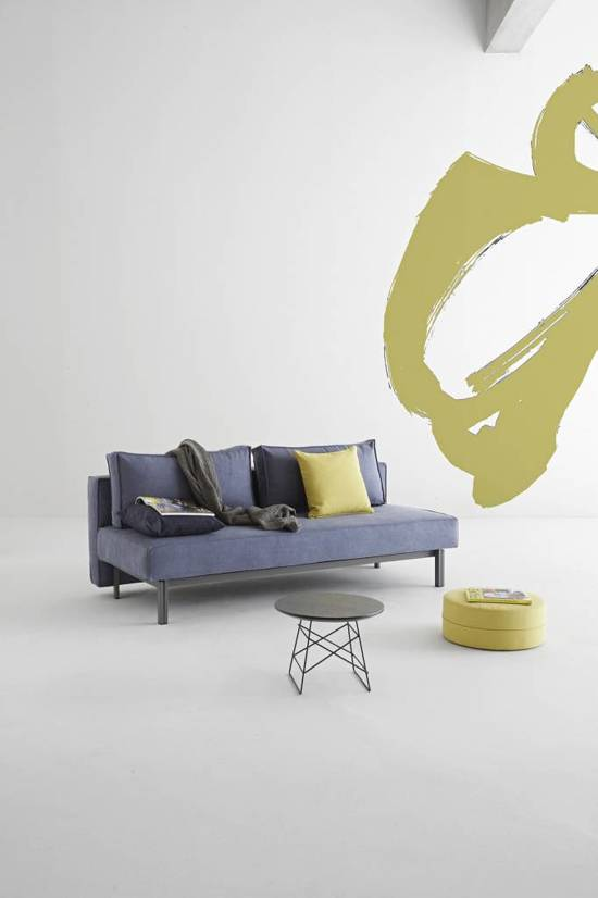 Slaapbank Design Outlet.Bol Com Hioshop Slaapbank Design Sly Blauw 140x200 Cm