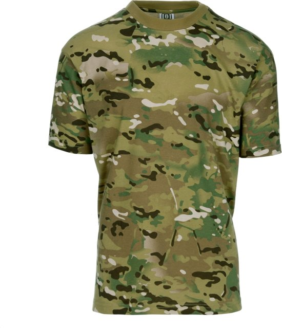 101inc T-shirt Recon multi camo
