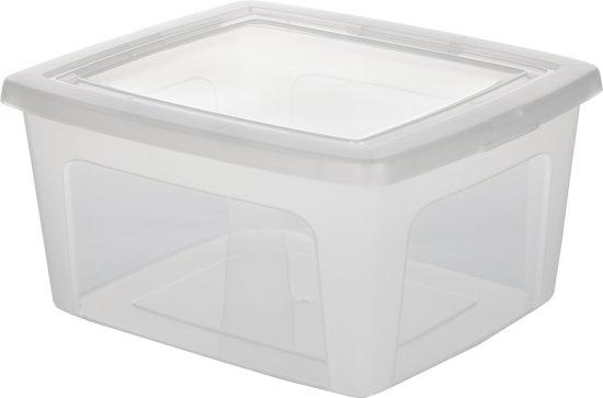 IRIS Opbergbox - 18 l - Transparant
